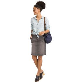 Prana Updrift Top Mujer, vintage blue